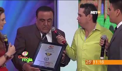 Festejo del 30 aniversario de JLB en Gente Regia, Televisa Monterrey
